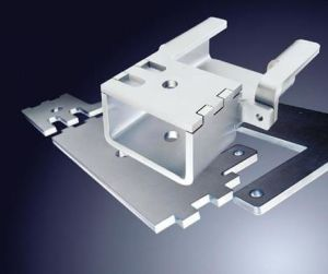 Precision OEM Powder Coated Metal Bracket Galvanized Steel Sheet Metal Stamping Parts Fabrication pictures & photos