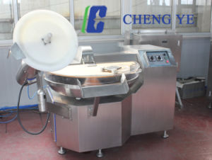 Sausage Bowl Cutter Cutting Machine 125L 60~80kg Beef Chicken pictures & photos