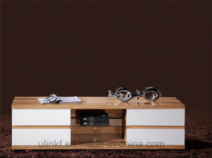 Moderm Furniture Sets Melamine TV Cabinet (HX-LS022) pictures & photos