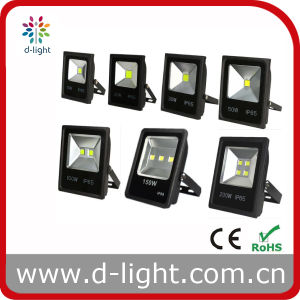 10W 20W 30W 50W 100W 150W 200W High Power IP65 Outdoor Use COB LED Floodlight pictures & photos