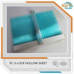PC U-Lock Multiwall Hollow Sheet Polycarbonate U Lock Sheets