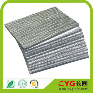 China Factory Directly Sell Acoustic Foam Panels, Reflective Foil for Heating Film, Backed Alu Foil XPE Foam pictures & photos