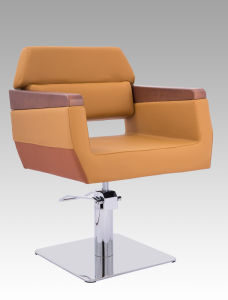 Wooden Armrest Barber Chair for Beauty Salon My-008-03 No Reclining pictures & photos