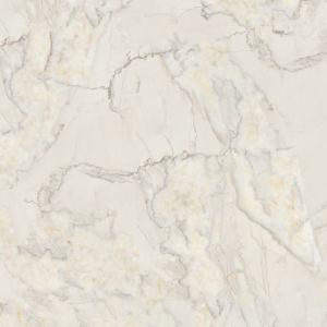 Snow White Design Low Water Absorption Polished Porcelain Glazed Tile pictures & photos