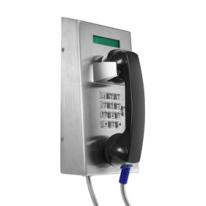 New Arrival Public Vandal Proof Telephone, Outdoor SIP VoIP Telephone with Pillar Jr201-Fk-Sc pictures & photos