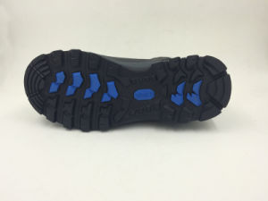Casual Style Split Nubuck Leather Sports Style Safety Outdoor Shoes (16070) pictures & photos