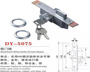 Safety Using HK Bolt Lock Body Alumimun Door Lock pictures & photos