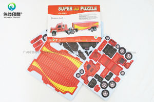 Wholesale Funny Childrens Super 3D Truck Puzzle pictures & photos