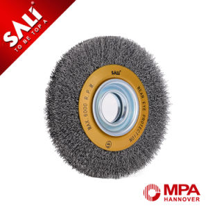 5 Inch Tempered Steel Wire Crimped Circular Wire Brush Polishing pictures & photos