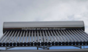 Stainless Steel Solar Hot Water Heater on Slope Roof pictures & photos