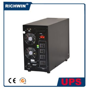 3kVA Pure Sine Wave Online UPS Power Supply with Battery pictures & photos