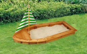 Eco-Friendly Sandbox Wooden Sandpit for Children (05) pictures & photos