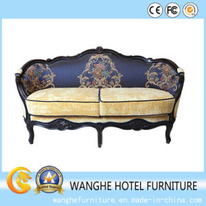 Korean Design Antique Office and Living Room Double Sofa pictures & photos