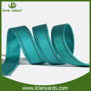 Custom Plain Grosgrain Band Polyester Flat Belt Webbing pictures & photos