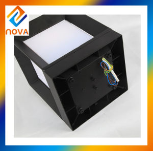 Wholesale Modern Style Waterproof Cube Decorative Outdoor Pillar Light pictures & photos