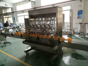 Auto Solvent Ink Filling Capping Labeling Machine pictures & photos