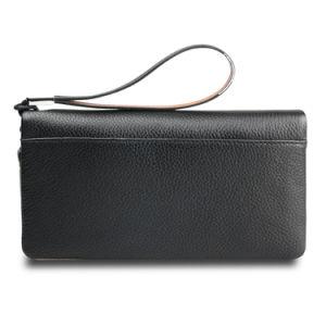 Men Wallet Genuine Leather Cowhide Wristlet Envelope Clutch Bag pictures & photos