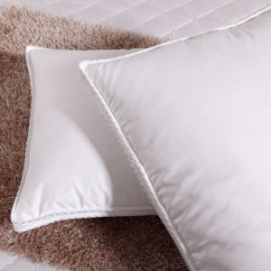 233 Tc White Duck Down Feather Filling Pillow Supplied by Snowman pictures & photos
