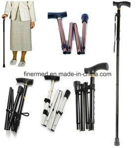Aluminium Foldable Walking Stick Cane pictures & photos