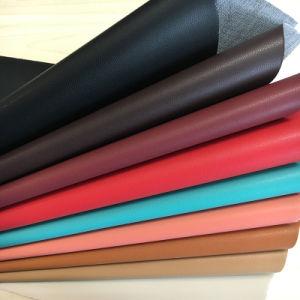 Sheep Grain Faux Artificial PU Leather for Shoes, Bags, Garment (HS-D04) pictures & photos