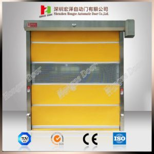 Dynaco Industrial and Logistics Clean Room and Refrigerated Security High Speed Door pictures & photos
