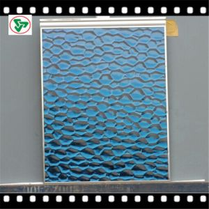 3mm-6mm Decorative Color/ Blue Patterned Mirror pictures & photos