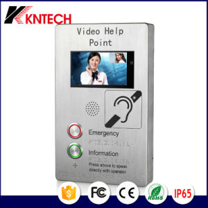 Intercom System Telephone IP Video Door Phone with Call Button pictures & photos