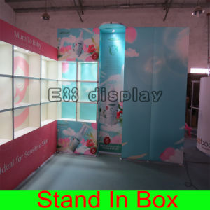 Custom Easy Set-up Portable Modular Exhibition Stand for Trade Show Fair Display Booth with Lights pictures & photos
