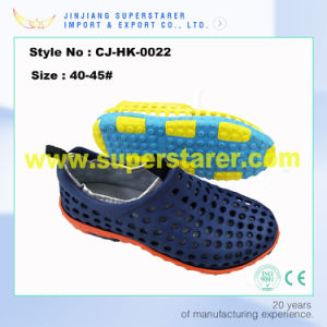 Breathable EVA Holey  2 in 1 Men Clogs Fashion Style with Washable Lining Fabtic pictures & photos