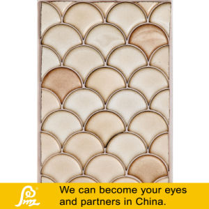 Ocean Style Ceramic Shell Shape Mosaic Tile for Wall Decoration--a pictures & photos