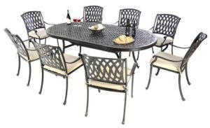 Outdoor/Patio/Cast Aluminum Dining Set pictures & photos