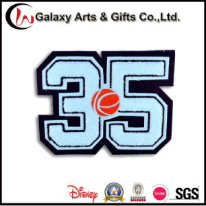 Custom Embroidery/Towel Patch in Letters pictures & photos