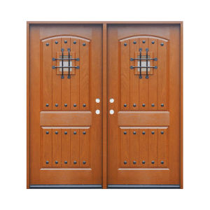 Oak Double-Leaf Door Fiberglass Door Sheet pictures & photos