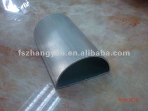 316.316L ERW Welded Semicircle Half Round Inox Tube pictures & photos