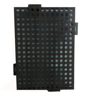 Perforated Aluminum Panel with Wooden Look Like Clor for Decoration pictures & photos
