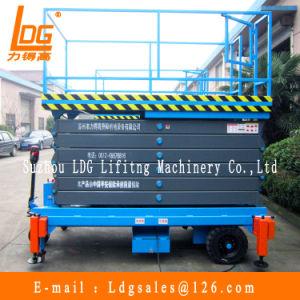 500kg 9m Hydraulic Scissor Lift (SJZ0.5-9) pictures & photos