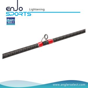 Lightening Two-Sections Carbon Fiber Casting Rods with Fishing Rods pictures & photos