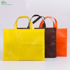 Custom Colorful Non Woven Fabric Shopping Bags for Packaging (KG-PN005) pictures & photos