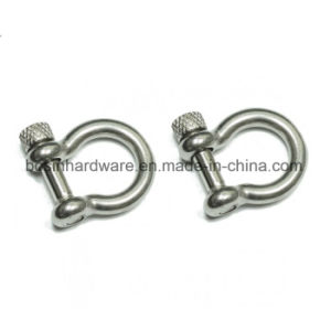 Stainless Steel Shackles with Knurled Pin pictures & photos