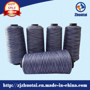 Dyed Polyester DTY Yarn Space Dyed Yarn Color Yarn 75D/72f pictures & photos