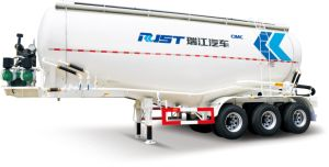 61m3 Cement Tank Semi Trailer/Powder Tank Semi-Trailer (ZJV9402GFLRJA) pictures & photos