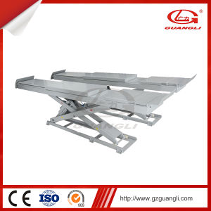 Guangli Ce Approved Auto Scissor Car Lift for Service Station pictures & photos
