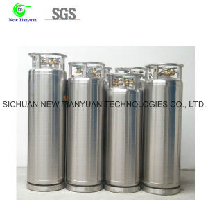 Ln2/Lo2/Lar/Lco2/LNG 80L Small Volume Cryogenic Tank Liquid Cylinder pictures & photos