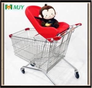 Plastic Parts Shopping Trolley Cart Soft Baby Seat pictures & photos