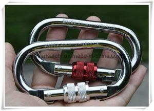 Chrome Carbon Steel Screwgate Carabiner pictures & photos