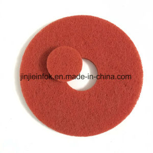 Factory Supplier Nylon Abrasive Red Dry Polishing Floor Pad pictures & photos