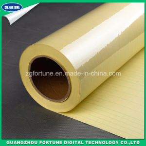 Yellow Back Transparent Double Side Self Adhesive Film pictures & photos