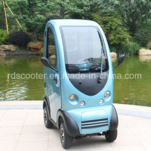 Mobility Scooter 4 Wheel Electric Car Cabin Scooter pictures & photos
