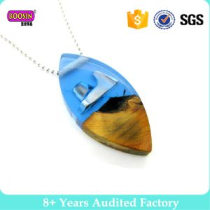 2017 New Design Fashion Jewelry Resin Wood Necklace pictures & photos