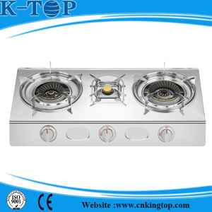 Stainless Steel Panel Gas Stove pictures & photos